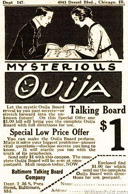 Ouija1920 1, Planeta Incógnito
